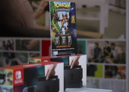 Presentación Crash Bandicoot para Nintendo Switch