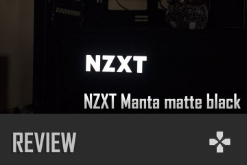 [REVIEW] NZXT Manta matte black (sin ventana)